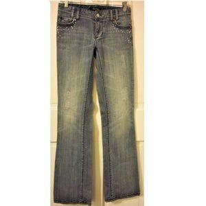WHITE HOUSE BLACK MARKET Size 00R Blanc Boot Jeans
